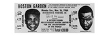 Ticket to World Championship Boxing Match Between Muhammad Ali and Sonny Liston Posters