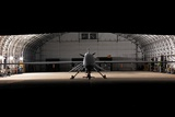Predator Drone in Hanger at Unknown Location, Ca. 2005 Photographic Print