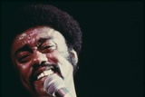 Johnny Taylor Performs During the Operation Push's Annual 'Black Expo' in Oct. 1973 Posters