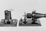 The First Telephone Developed and Patented by Alexander Graham Bell in 1876 Posters
