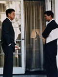 President John Kennedy with His Brother, Atty. Gen. Robert Kennedy, Ca. 1961-63 Photo