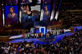 House Speaker Nancy Pelosi Addresses the 2008 Democratic National Convention Print