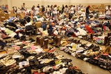 Louisiana Evacuees from Hurricane Katrina in Houston Astrodome, Sept. 2, 2005 Prints