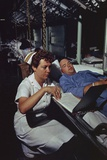 Navy Nurse on Hospital Ship USS Repose, Off South Vietnam, April 1966 Photo