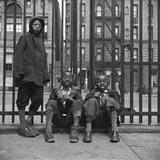 Three African American Boys in Harlem. May 1943 Photo