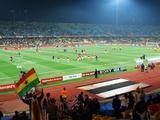 USA Vs. Ghana in a FIFA 2010 World Cup Soccer Match, 2010 Fotografie-Druck