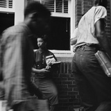 African American Students Arrive at Little Rock's Second Largest School, Sept 91958 Prints