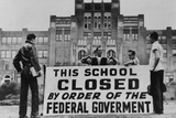 Little Rock Closed Central High for the 1958-59 School Year to Avoid Integration Photo