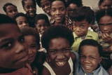 African American Children on the Street in North Philadelphia, Ca. 1975 Posters