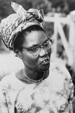 Funmilayo Ransome-Kuti, a Nigerian Political and Women's Rights Activist, Ca. 1960 Posters
