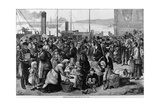 Emigrants Leaving Queenstown, Ireland, for New York, 1874 Prints
