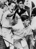 White Boys Protest Housing Integration in Delmar Village, Pennsylvania, 1963 Prints