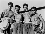US Women's Gold Medal 400-Meter Relay Team at the Rome Olympics, 1960 Photo