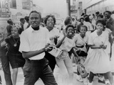 Young African Americans Protest in Birmingham, Alabama, May 7, 1963 Posters