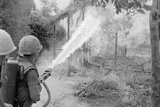 US Marines During a Search and Destroy Mission in Quang Nam Province, March 1967 Prints