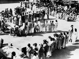 UN Health Programs Provided Screening Tests for Tuberculosis, India, 1950s Photo