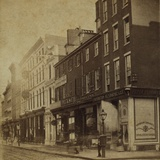 Philadelphia in 1870, View of Chestnut Street Below 11th Street Prints
