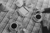 Restaurant Still Life of Coffee and Cigarettes. Lufkin, Texas, April 1939 Prints