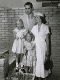 Vice President Richard Nixon with His Family on Vacation in Australia, 1953 Photo