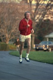 President Jimmy Carter Jogging. Nov. 20 1978 Photo