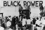 Stokely Carmichael Speaking at the University of California at Berkeley, Ca. 1965-67 Photo