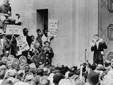 Attorney General Robert Kennedy Addresses Civil Rights Demonstrators, June 1963 Photo