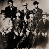 Dodge City Peace Commissioners' Fought to Keep Dodge City Corrupt, 1883 Photo