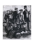 Mennonites from Odessa, Russia, at Castle Garden Immigrant Station in 1874 Prints