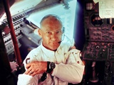 Apollo 11 Lunar Module Pilot Edwin Aldrin During the Lunar Mission, July 20, 1969 Photo