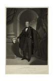 James Polk, United States President, Print after Thomas Sully Painting, 1840s Prints