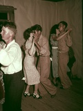 Square Dance in Rural Home in Mcintosh County Oklahoma, Ca. 1938-39 Posters