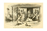 1813 Death of American Missionary Reverend Gordon Hall of Cholera in Mumbai Prints