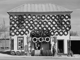 Secondhand Tires Displayed For Sale at San Marcos, Texas, 1940 Photograph by Russell Lee Photo