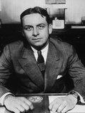 Eliot Ness, Treasury Prohibition Agent Who Brought Down Al Capone, Ca. 1935 Photo