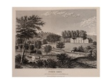 Home of President William Henry Harrison in North Bend Ohio, 1840 Prints
