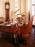 Monticello, Thomas Jefferson's Desk with Invention to Create Duplicates, Ca. 1990s Print