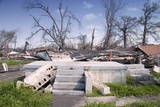 Steps of a House Taken Away by Hurricane Katrina in August 2005 Photo