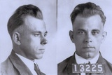 John Dillinger Mugshot, Ca. 1925 Photo