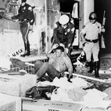 Los Angeles Police Drag Black Youth from a Looted Store. Aug. 13, 1965 Prints