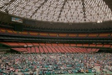 Louisiana Evacuees from Hurricane Katrina in Houston Astrodome, Sept. 2, 2005 Print