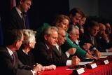 Serbian President Slobodan Milosevic at the Dayton Peace Accords, Dec. 14, 1984 Print