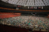 Louisiana Evacuees from Hurricane Katrina in Houston Astrodome, Sept. 2, 2005 Posters