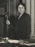 Senator Hattie Caraway, Presides over Senate on May 10, 1932 Print
