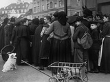 Bread Lines in Germany at the End of World War 1, 1918-19 Prints