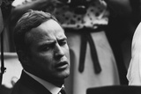 Actor Marlon Brando at the 1963 Civil Rights March on Washington. Aug. 28, 1963 Photo