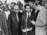 Walter Fauntroy and Bishop Williams Protest 1962 Arrest of Martin Luther King Prints