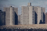 Co-Op City, One of the World's Largest Apartment Complexes, in Bronx, NYC, 1970s Photo