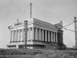 Lincoln Memorial Under Construction in 1915 Prints