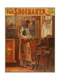 Theatrical Poster For a Comedy-Drama Entitled the Shoemaker, Ca. 1907 Prints
