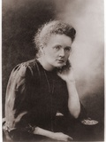 Marie Curie Polish-French Physicist Won Two Nobel Prizes, Ca. 1900 Poster